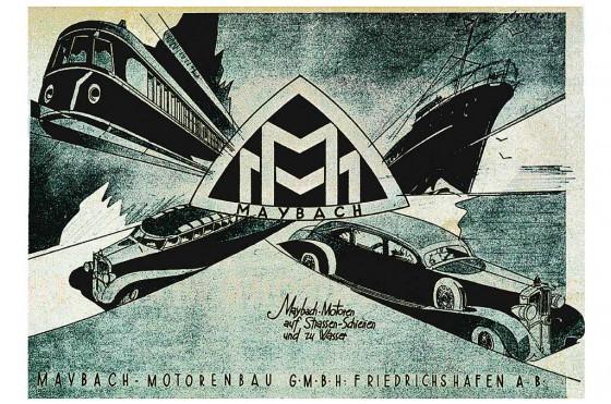 Maybach fue fundada en 1909 y fabricó locomotoras y motores de tanques de guerra.