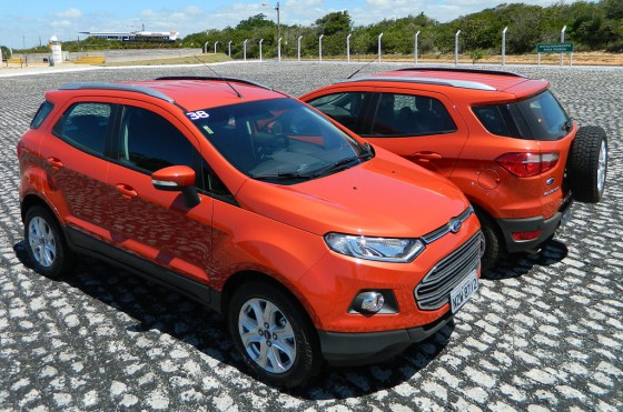 Manejamos la nueva Ford EcoSport en Brasil.