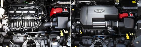 Los motores de la Nueva Ford EcoSport.