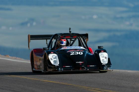 Nutahara, con un Toyota TMG EVP002, se impuso entre los eléctricos.