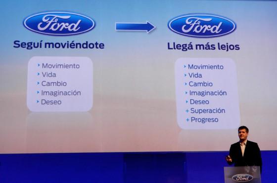"""Ford presentó el """"Llegá más lejos"""""""