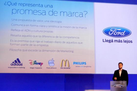 Marcelo Ramos, Gerente General de Marketing de Ford Argentina.