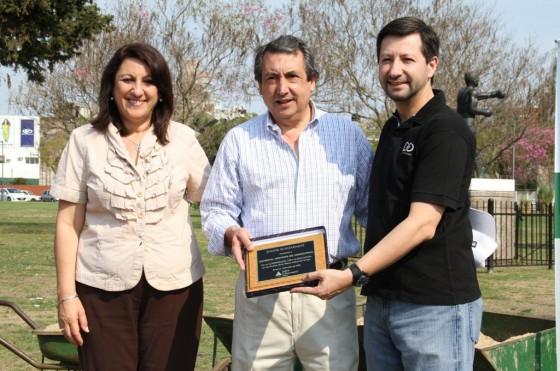 Rosario: GM Argentina colaboró en el reacondicionamiento del Parque Urquiza