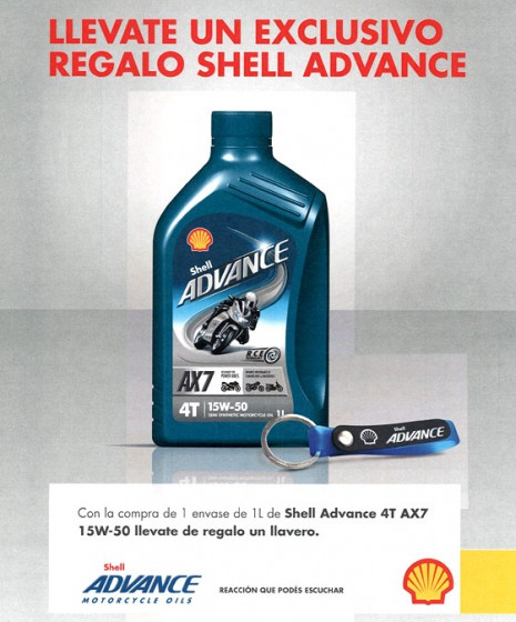 "Shell Lubricantes lanza la ""Promo Shell Advance"""