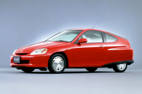 Honda Insight de 1999, el primer híbrido de la marca japonesa.