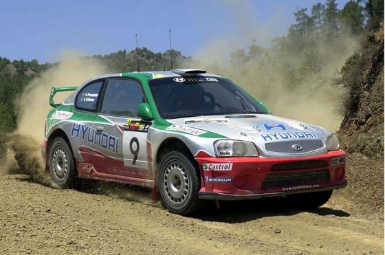 Hyundai Accent WRC de 2003