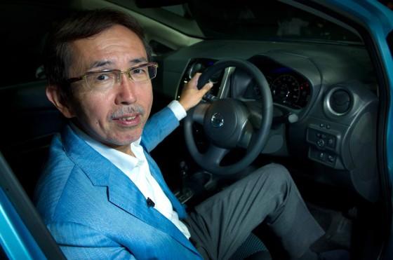 Shiro Nakamura, vice presidente senior y director de creación de diseño de Nissan.
