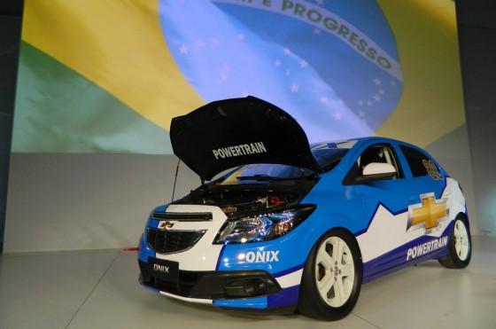 Video: el orgulho brasileiro del Chevrolet Onix