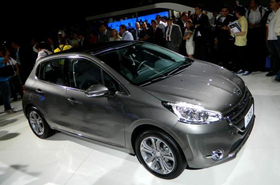 Peugeot 208 en el Salón de San Pablo 2012