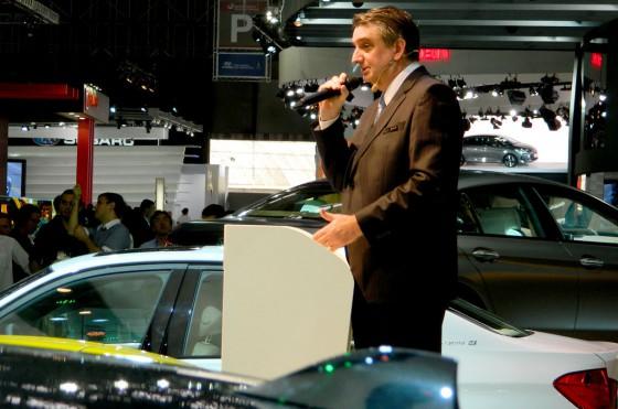 Jorg Henning Dornbusch, presidente de BMW Brasil.