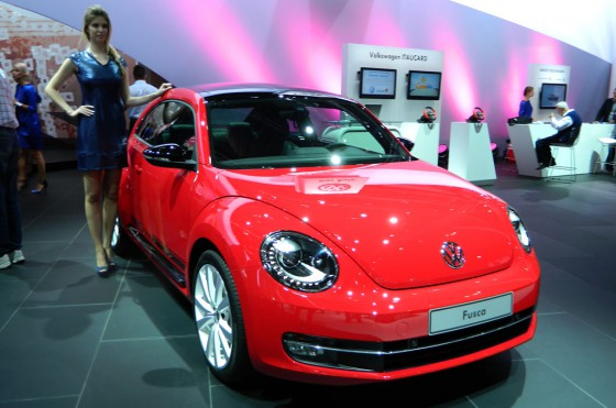 El VW Fusca (o Beetle) en en Salón de San Pablo 2012.