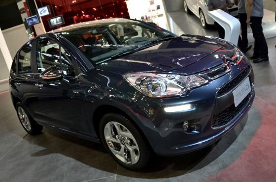 Nuevo Citroën C3 en el Salón de San Pablo 2012