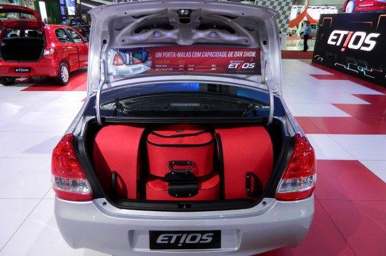 El Toyota Etios en el Salón de San Pablo 2012