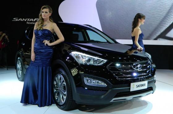 Nueva Hyundai Santa Fe en el Salón de San Pablo 2012