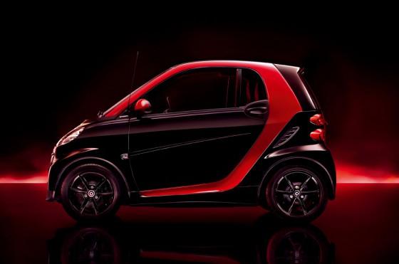 smart coupé sharpred