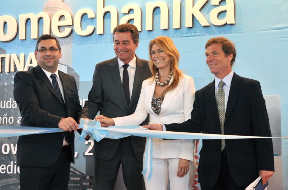Se inauguró Automechanika Argentina 2012