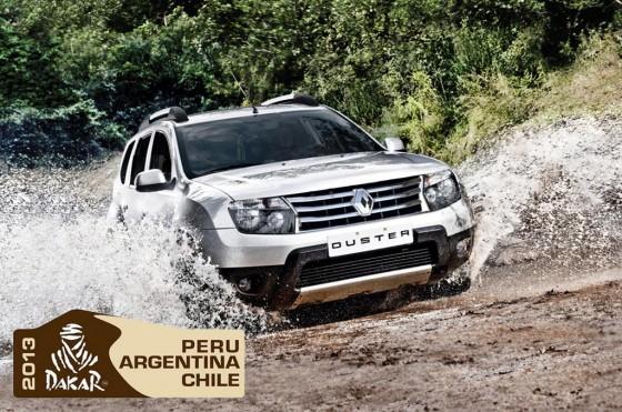 Renault correrá el Dakar 2013 con dos Duster oficiales