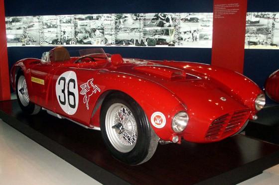 Con este Lancia D24, Fangio ganó la IV Carrera Panamericana en 1953.
