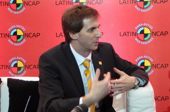 """""""Se pueden fabricar autos en América Latina con buena seguridad"""", asegura Furas."""
