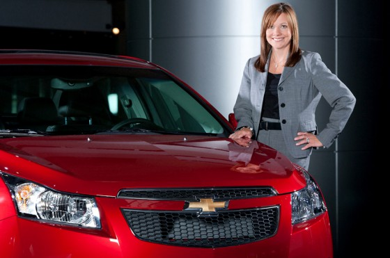 Mary Barra, vice-presidenta senior de Desarrollo de Productos Globales de GM.