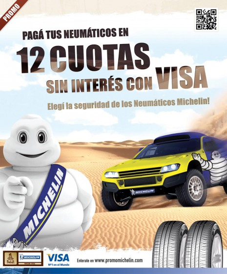 Michelin se suma como proveedor del Dakar y lanza una promo