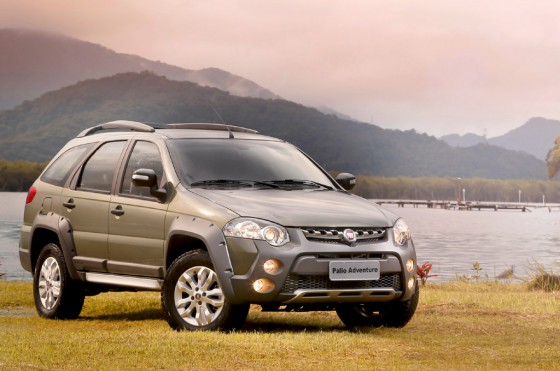Fiat Palio Weekend Adventure
