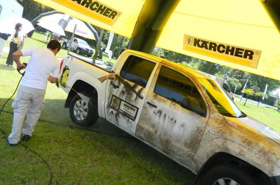 Kärcher estrenará dos nuevas hidrolavadoras en el Dakar 2013