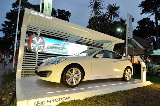 Stand de Hyundai
