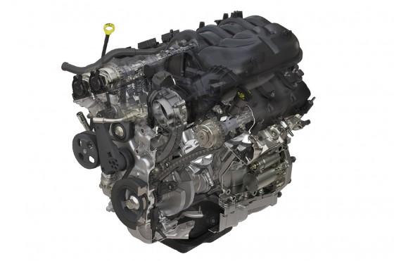 El motor V6 Pentastar de 3.6 litros con 284 hp