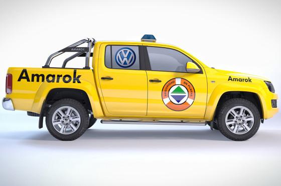 La VW Amarok será el vehículo oficial del Operativo de Seguridad en Playas