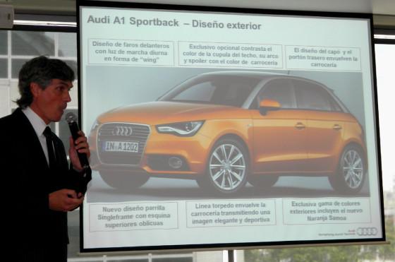 Gonzalo Cassina, responsable de marketing de Audi Argentina, habla del A1 Sportback.