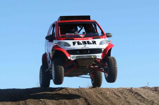 ¿Un Smart en el Dakar 2013?