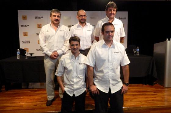 Dakar 2013: Renault apunta a que el Duster se clasifique entre los 15 primeros