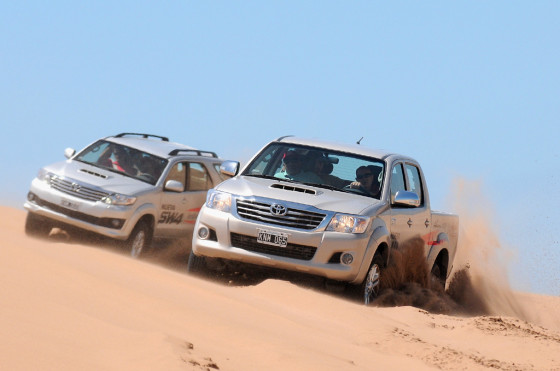 Verano 2013: Toyota presente con pruebas, clínicas y travesías 4x4