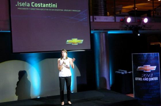 Isela Costantini, presidenta de GM Argentina, hizo referencia al Proyecto Fénix.