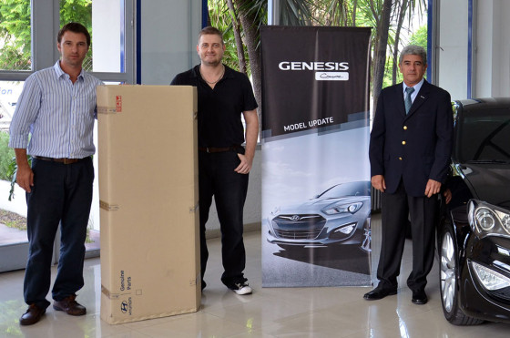 Hyundai celebra la venta de las primeras mil Genesis Coupé