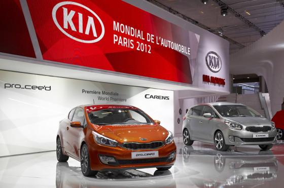 Los nuevos Kia Pro Ceed y Carens.