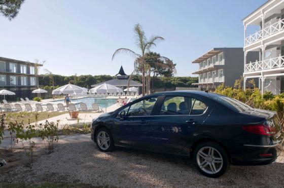 Peugeot también está en el Howard Johnson Cariló.