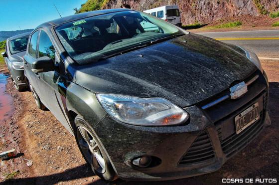 Fotos: el nuevo Ford Focus se ensaya en las rutas argentinas - Foto: Jorge Marchesín