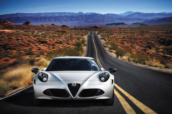Alfa Romeo 4C edición limitada.
