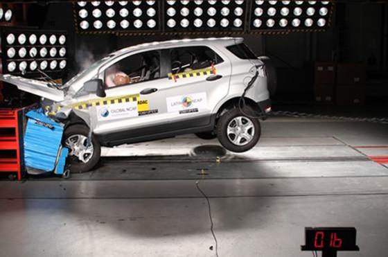 Nueva Ford EcoSport en los ensayos de Latin NCAP
