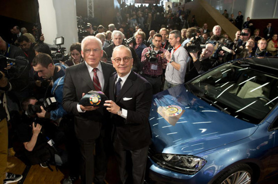 El Volkswagen Golf VII fue elegido Car Of the Year 2013