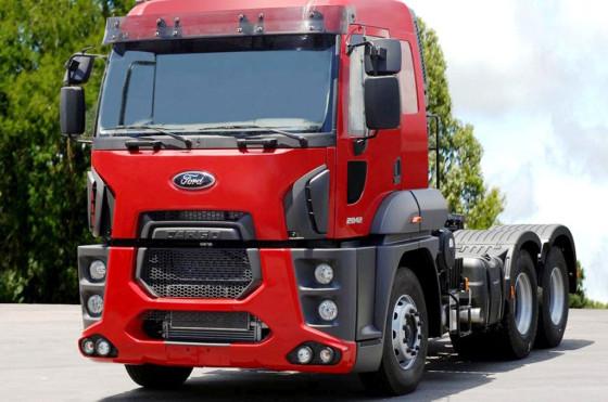 Brasil: Ford presentó su camión extra-pesado 2842; llegaría a Argentina en 2014