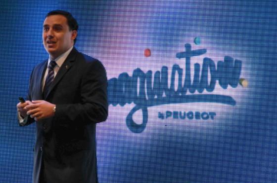 Pablo Sánchez Liste, Director de Comunicación de Peugeot Argentina, ofició de maestro de ceremonias.
