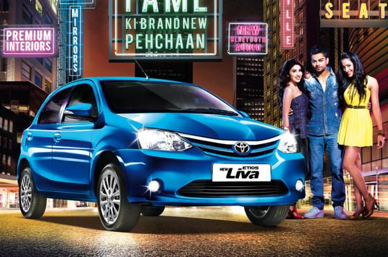 Toyota Etios: restyling en India y rebaja de precios en Brasil