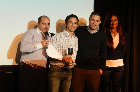 Joaquín González (Siro) se llevó el primer premio entre los Responsables de Clientela.