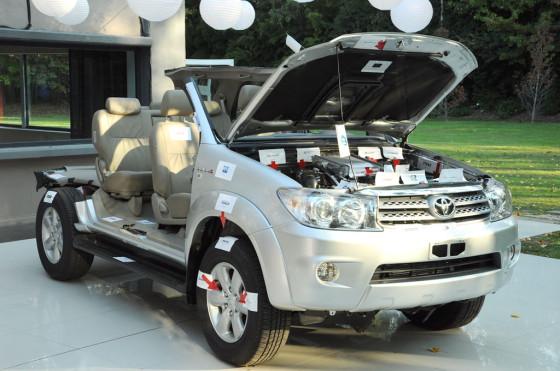 Argentina: Toyota reconoció a proveedores y Guidi S.A. fue elegido como el mejor del año