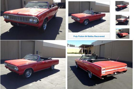 Así apareció el Chevelle de Tarantino, 20 años después. Foto: Stollen911.com