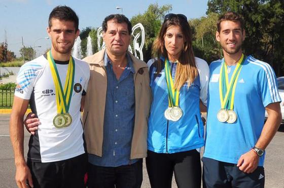 Ford fue sponsor oficial del equipo argentino de remo campeón del Sudamericano de Río de Janeiro