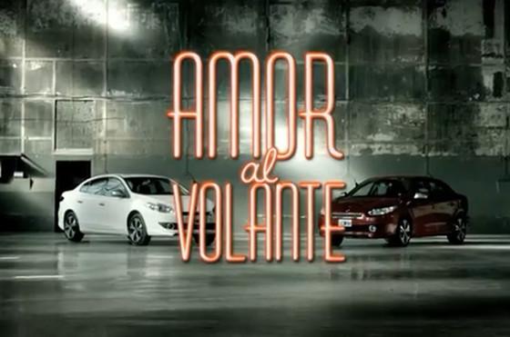 """Renault estrena la novela """"Amor al volante"""" con Spataro, Tobal y el Fluence GT como protagonistas"""